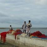 vissers in Mannar, Sri Lanka
