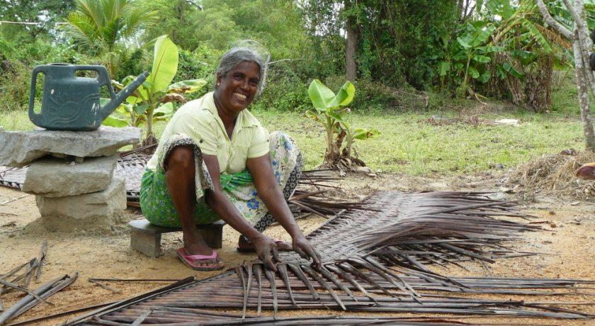 Sri Lanka dakbedekking