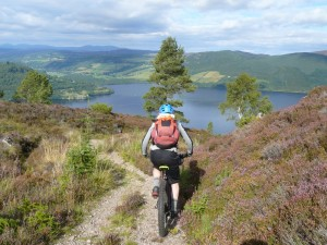 mountainbiken Loch Ness Schotland