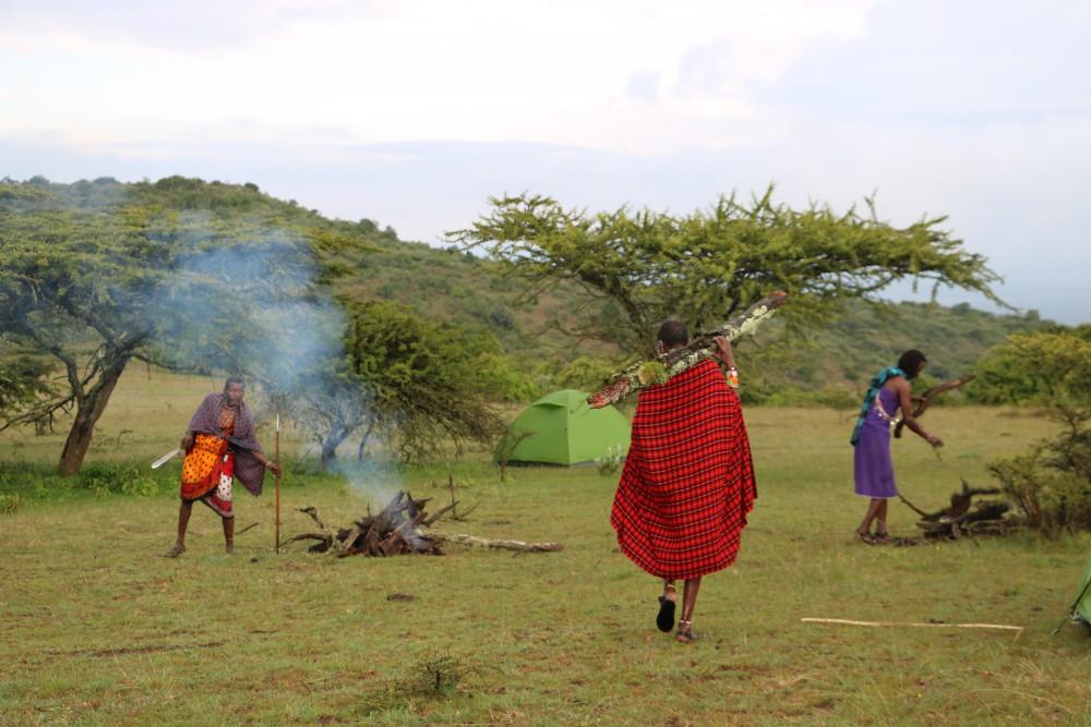 bushexpeditie met de Masai